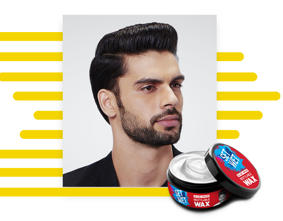 Slicked Back - Set Your Hair With Set Wet Gel