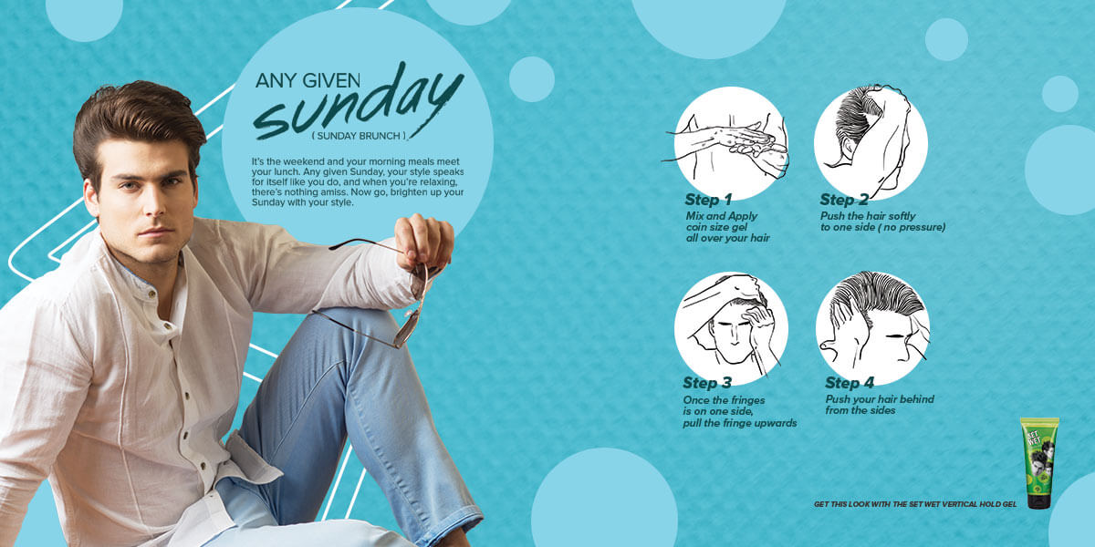 Set Wet - Steps To Follow To Get The Casual Sunday Look