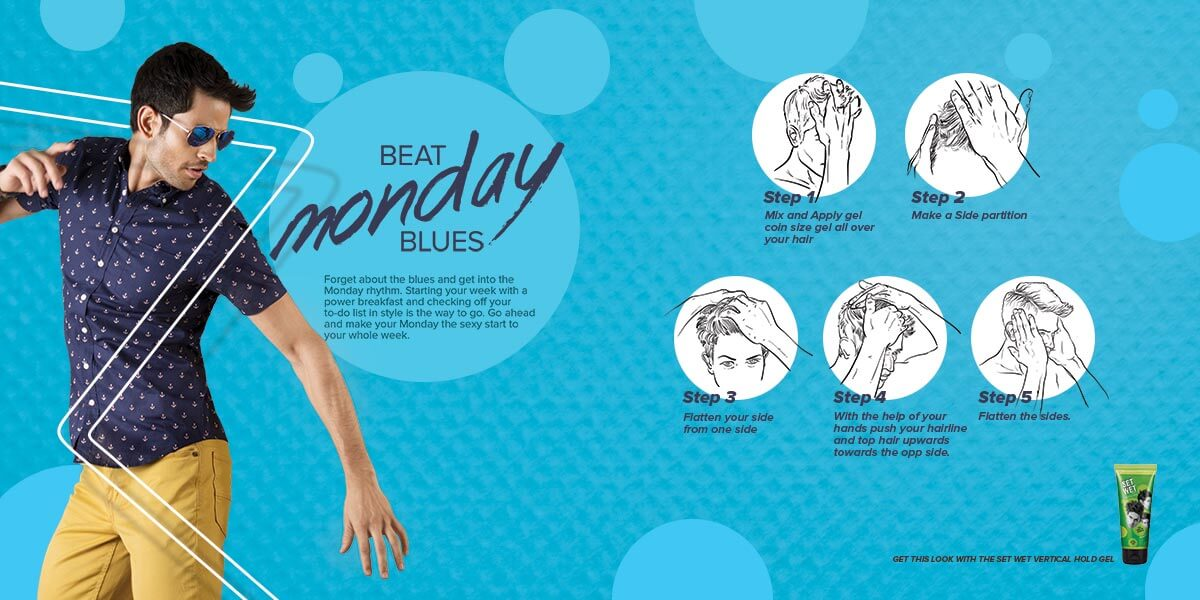 Set Wet - Easy Steps To Get The Monday Raga Look
