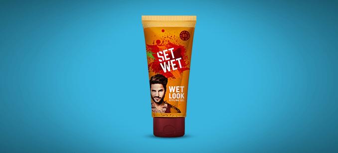 Set wet - WET LOOK