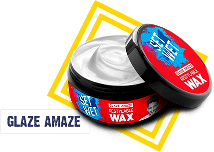Set Wet Glossy Hair Wax - For A Smart And Sexy Look